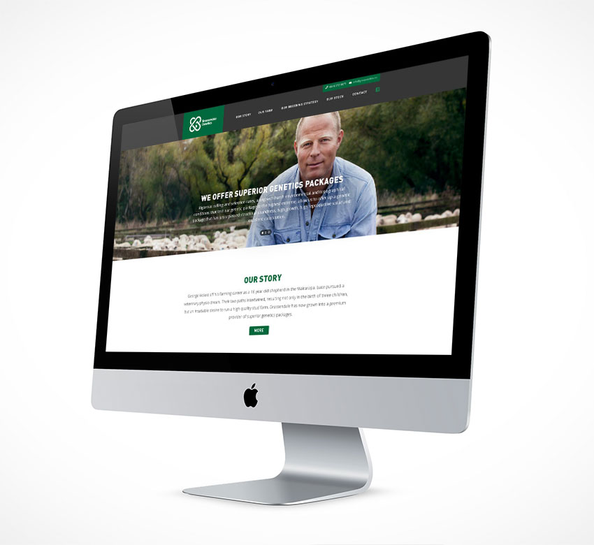 Grassendale Genetics Website Design