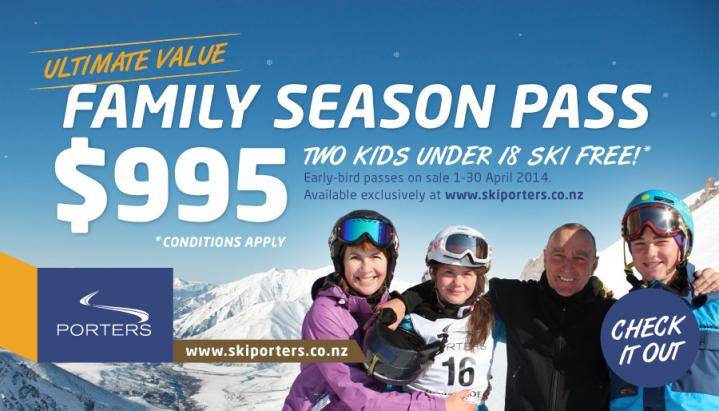Family Pass Web Ad