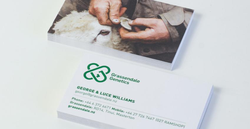 Grassendale Genetics Business Card 4